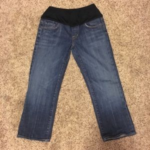 Citizens of humanity Capri maternity jeans size 29